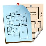 House plans Royalty Free Stock Image