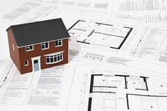 House plans Stock Image