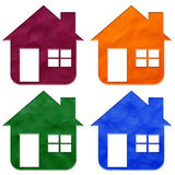 House plasticine Royalty Free Stock Image
