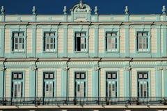 A house of Plaza Vieja Royalty Free Stock Photos