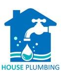 House plumbing symbol Royalty Free Stock Photography