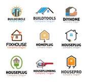 House Plumbing Tools Design Stock Photos