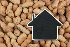 House pointer, the price tag lies on  peanuts Stock Images