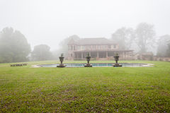 House Pool Mist Landscape Royalty Free Stock Photo