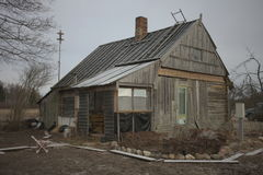 house poor Royaltyfri Fotografi