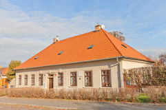 House of Popelka Bilianova in Vysehrad of Prague Royalty Free Stock Photo