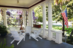 Free House Porch Stock Image - 48389741