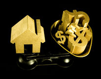 House prices Stock Image