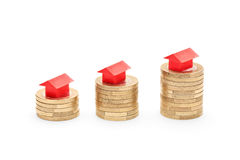 House prices going up concept Stock Images