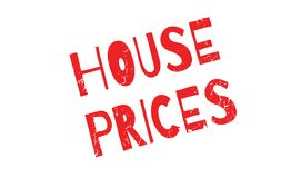 House Prices rubber stamp. Grunge design with dust scratches. Effects can be easily removed for a clean, crisp look. Color is easily changed Royalty Free Stock Image