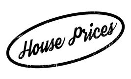 House Prices rubber stamp. Grunge design with dust scratches. Effects can be easily removed for a clean, crisp look. Color is easily changed Royalty Free Stock Photography