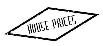 House Prices rubber stamp Royalty Free Stock Photos