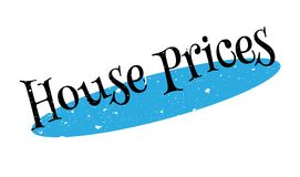 House Prices rubber stamp Stock Photography
