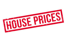 House Prices rubber stamp. Grunge design with dust scratches. Effects can be easily removed for a clean, crisp look. Color is easily changed Royalty Free Stock Photo