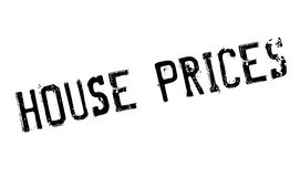 House Prices rubber stamp Stock Photos