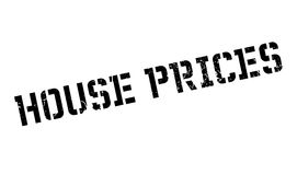 House Prices rubber stamp Royalty Free Stock Images