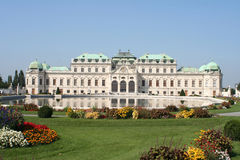 The house of prince. A castle in Vienna Stock Images