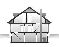 House profile Stock Image