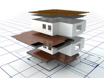 House project Royalty Free Stock Photos