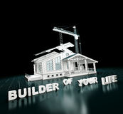 House project Royalty Free Stock Images