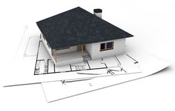 House project vector illustration