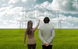 House project royalty free stock image