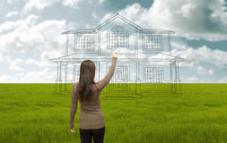 House project Stock Photography