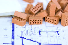 House project and specification Royalty Free Stock Photos