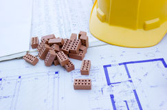 House project and specification Stock Photos