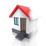 House projektet Att dra vänder in i modellen 3d Arkivbilder