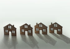 House property concept background Royalty Free Stock Image