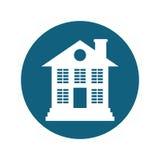 House property icon royalty free illustration