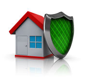 House protection stock illustration