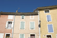 House in Provence village. Stock Images