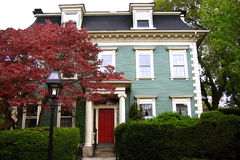 House in Providence. Early estate in Providence RI stock photography