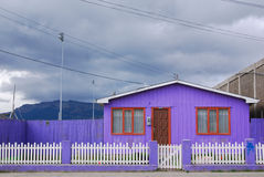 House Puerto Natales Royalty Free Stock Image