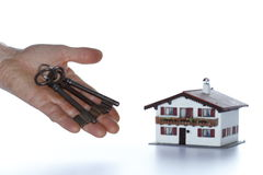 House purchase Royalty Free Stock Photos