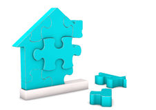 House Puzzle Royalty Free Stock Photo