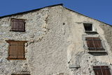 House in Pyrenees Royalty Free Stock Photo