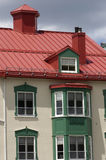House in Quebec Stock Image