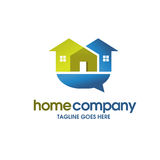 House and real estate community logo Stock Images