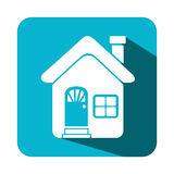 House real estate emblem Stock Photo