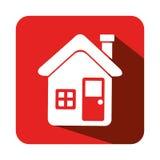 House real estate emblem Stock Images