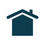 House real estate symbol. Icon vector illustration graphic design Royalty Free Stock Photography