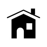 House real estate symbol. Icon vector illustration graphic design Royalty Free Stock Photo