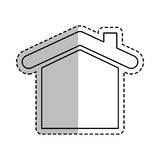 House real estate symbol. Icon vector illustration graphic design Royalty Free Stock Image