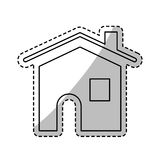 House real estate symbol. Icon vector illustration graphic design Royalty Free Stock Images