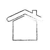 House real estate symbol. Icon vector illustration graphic design Stock Images