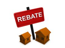 House rebate Stock Image