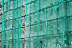 House reconstruction background royalty free stock photography